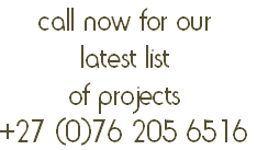 call now for our 